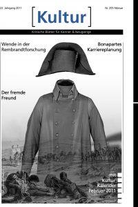 Titelseite Zeitung Kultur Napoleonsuniform ohne Kopf